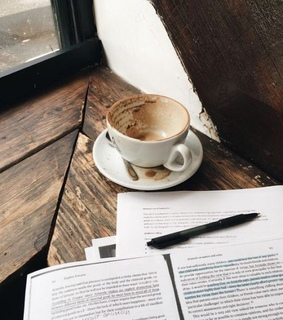 aesthetic, coffee and school