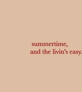 typography, summertime and text