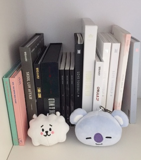 bts, albums and white