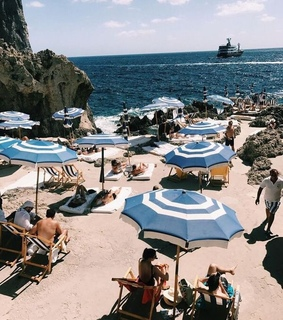 summer, travel and blue