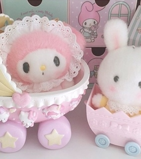 cute, bunny and my melody