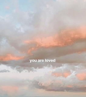 message, sky and love