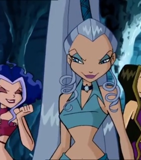 winx, darcy and ice
