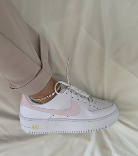 shoes, sneakers and pink white