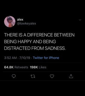 &, difference and being distracted