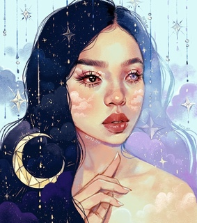 digitalart, stars and artist
