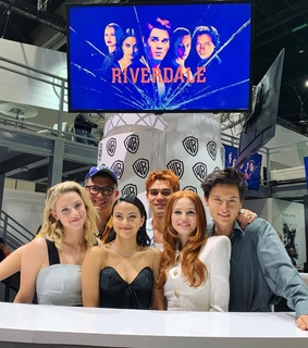 kj apa, cole sprouse and madelaine petsch