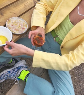 summer, lime and fashion