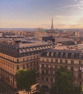 city, french and paris