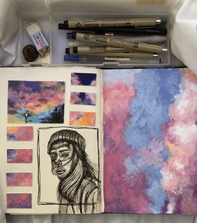 aesthetic, painting and carefree vogue