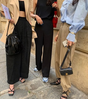 oversized, trousers and fashion