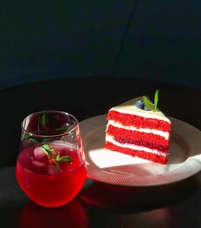 photography, red velvet and patisserie