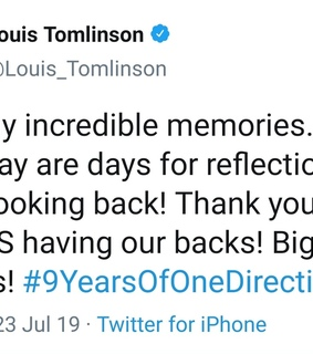 1d, twitter and memories