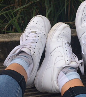 matching, sneakers and pfp