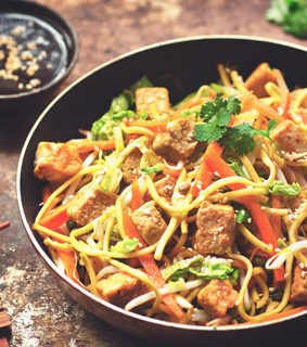 healthy, food and noodles