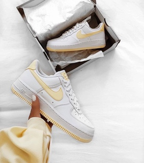 nike air, fashion and yellow