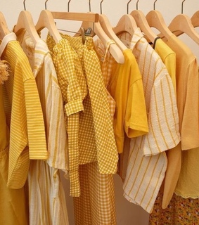 happy color, yellow and aesthetic