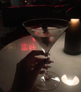 cocktail, night out and drinks