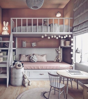 kids, baby and room