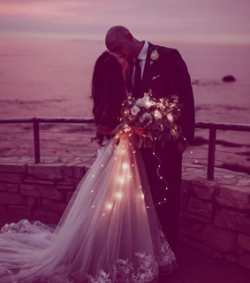 love, lights and dress