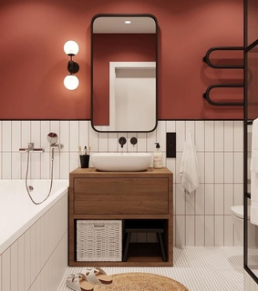bathroom, home and decor
