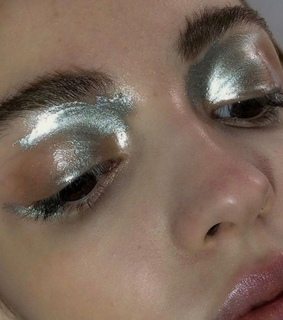 silver, grey and glitter