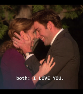 love, jim halpert and couple