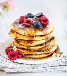 sweets, food and pancakes