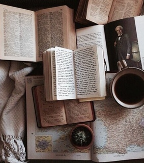 coffee, weheartit and hobby