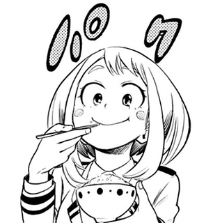 anime, ochaco uraraka and uraraka
