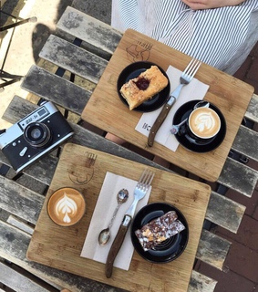 interesting, beautiful and cafe