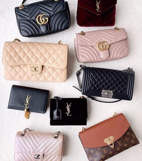bags, YSL and luxury bags