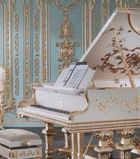 piano, vintage and design
