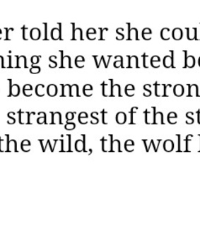 words, wolf and wild