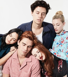 lili reinhart, cole sprouse and camila mendes