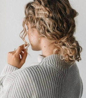 haïr, hairstyle and curl