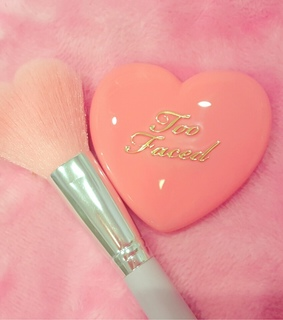 too faced, makeup and pink