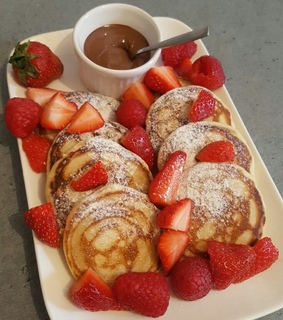 chocolat, fraises and delicieux