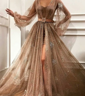 evening gown, fashion and sexy