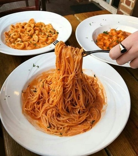 spaghetti, food and delicieux