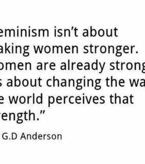feminism, girls and tough