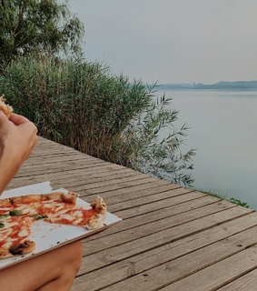 adventure, pizza and nature