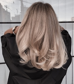 long hair, fashion and blonde
