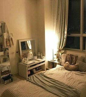 cozy, bed and aesthetic