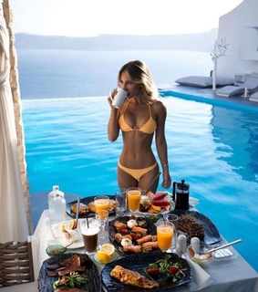 luxury, summer and coffee