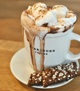 witchery, marshmallow and chocolate