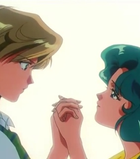 love, sailor neptune and sailor uranus