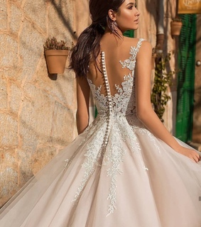 wedding dress, dress and haute couture