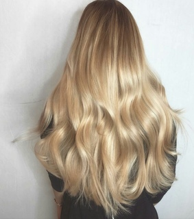 blonde, hairstyle and hair goals