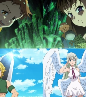 meliodas, seven deadly sins and couple